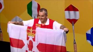 Phil Taylor Northern Ireland Flag