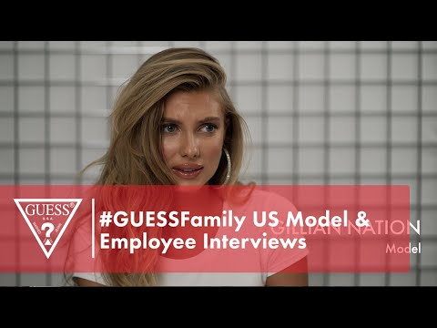 #GUESSFamily US Model & Employee Interviews<br><br...