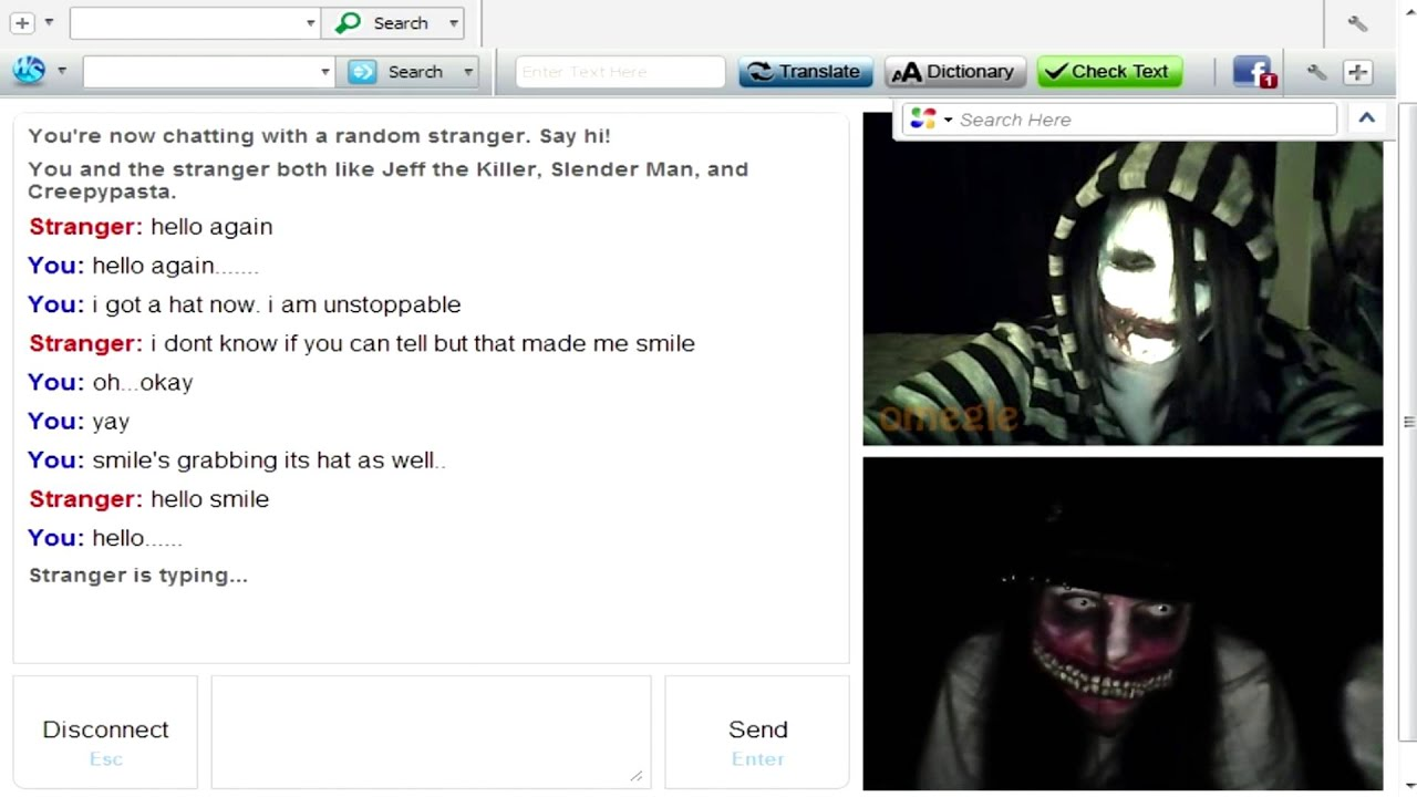 how to make omegle video work