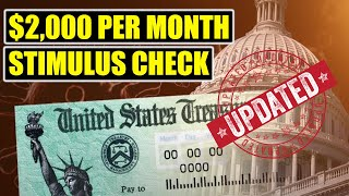 More Senators JUST CALLED For $2,000 Per Month Stimulus Checks || 2nd Stimulus Check Update