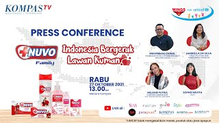 [LIVE] Press Conference - Nuvo Indonesia Bergerak Lawan Kuman