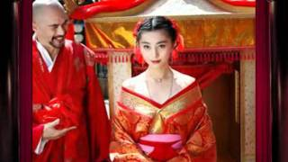 Most beautiful  chinese actresses in bridal dress p1