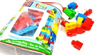 Mega Bloks First Builders Toy Review | Like Lego Bricks & Kids Early Learning Building