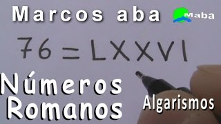 ALGARISMOS ROMANOS - Sistema de numeração Romana thumbnail