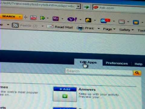 How to remove, THIS SITE HAS A COUPON  Popup on yahoo toolbar, Vsicom
