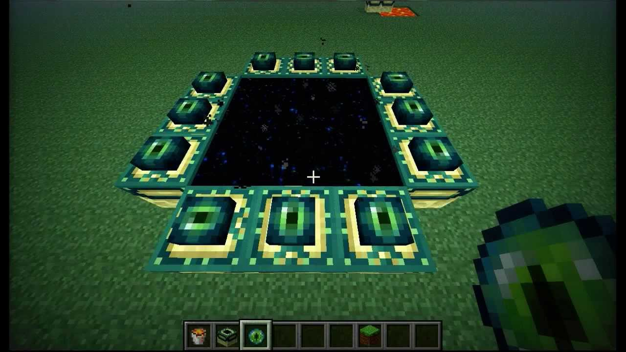 Minecraft Ender Portal Bauen L How To Build End Portal FPS HD - Spiele in minecraft bauen