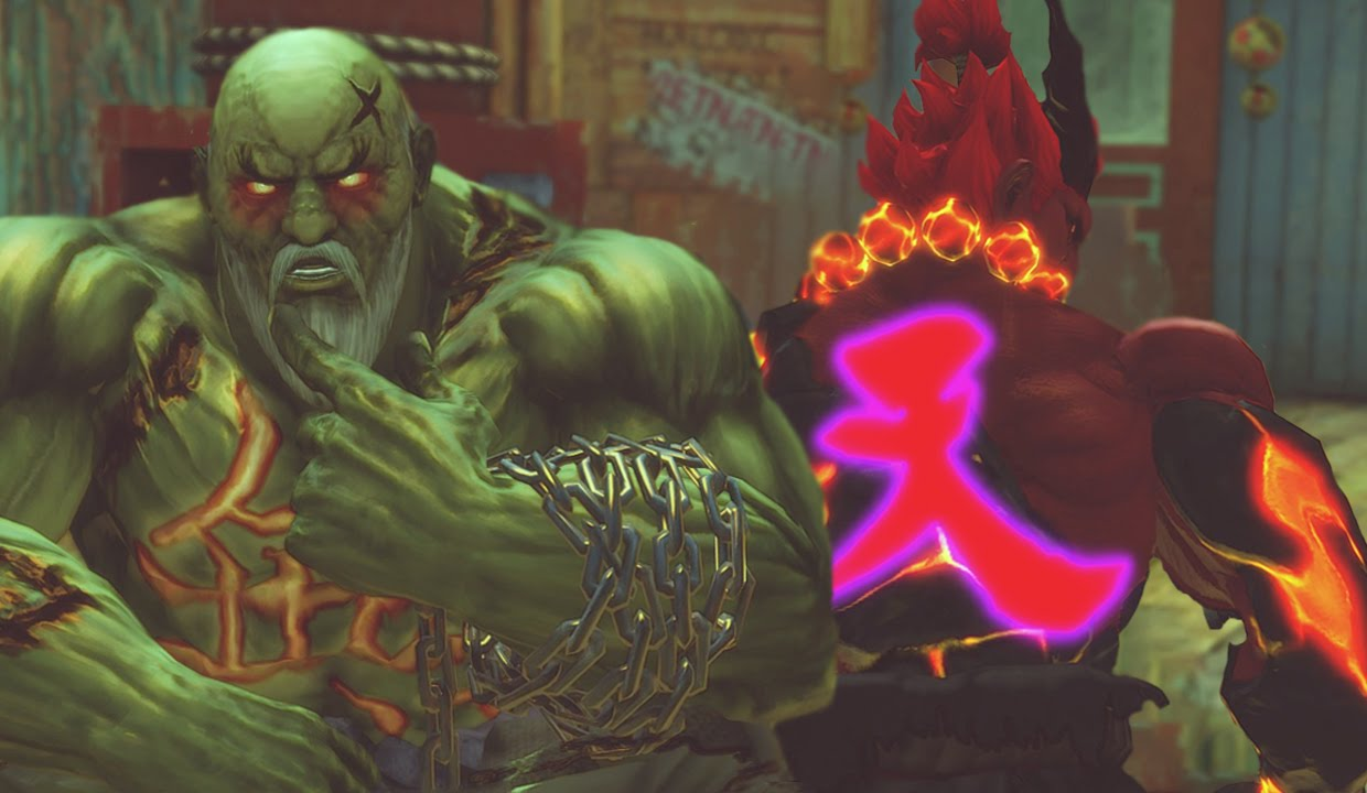 Pop Culture Shock: Gouken vs Akuma Diorama