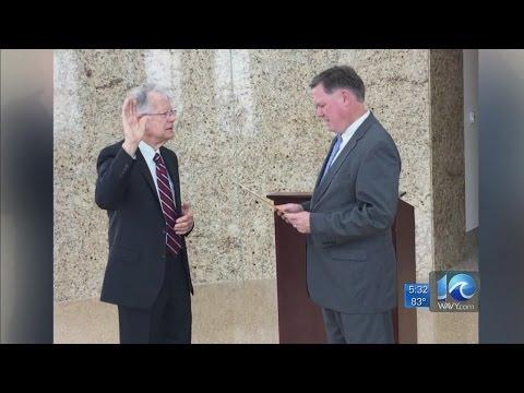 James B. Oliver Jr. sworn in as new Norfolk city treasurer