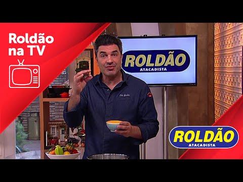 Receita | Bolo de Iogurte com Calda de Morango | Edu Guedes e Roldão