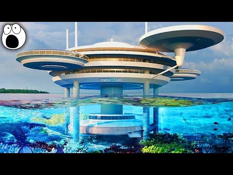 Top 10 AMAZING Underwater Buildings You Won't Believe Actually Exist