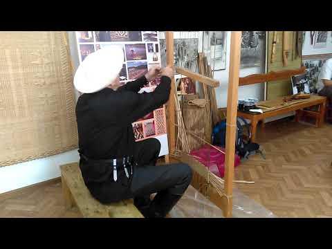 Плетение циновок: мастер класс Замудина Гучева