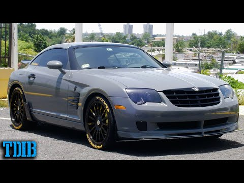 SUPERCHARGED Chrysler Crossfire SRT6 Review! The Weirdest Mercedes Sleeper in Disguise