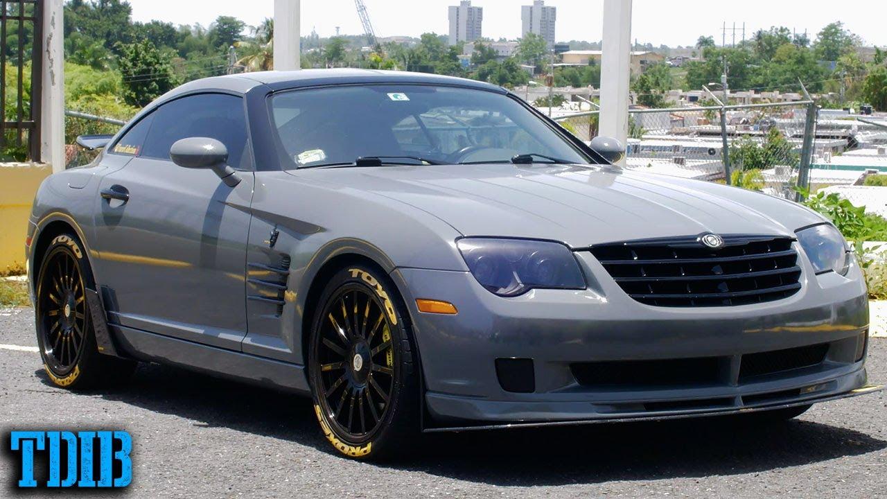 Supercharged Chrysler Crossfire Srt6 Review The Weirdest Mercedes