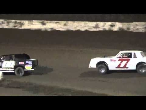 Wild Street Stock Heat La Salle Speedway March 26 2016