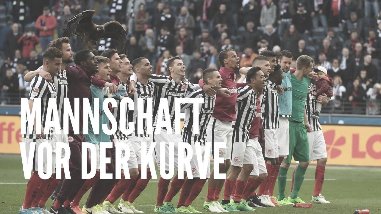 Eintracht vs. FC Augsburg | Kurve nach dem Spiel