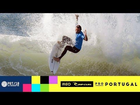 Fanning vs. Morais vs. Gouveia - Round One, Heat 12 - MEO Rip Curl Pro Portugal 2017