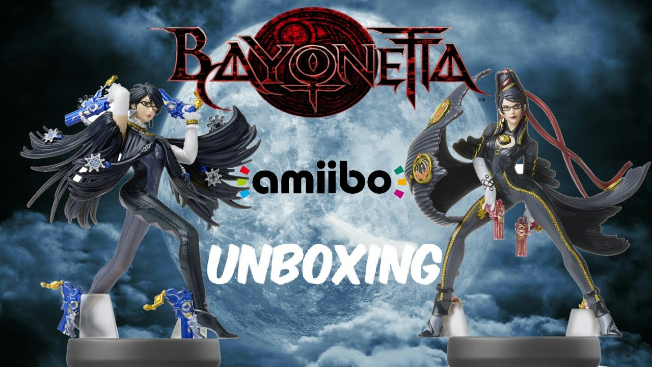 Bayonetta Player 1 and 2 amiibo unboxing [ Nostalgic Duo ] - YouTube
