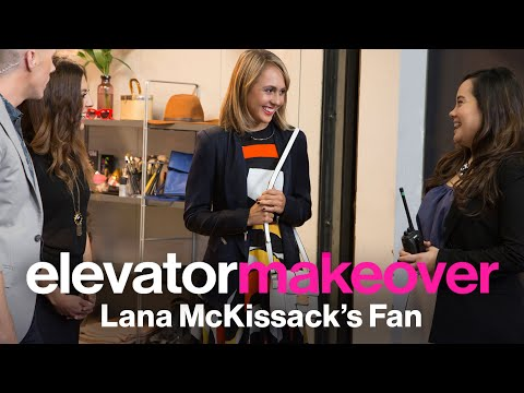 Lana McKissack Cuts Hair and Creates Confidence - Elevator Makeover | Style & Beauty | Glamour