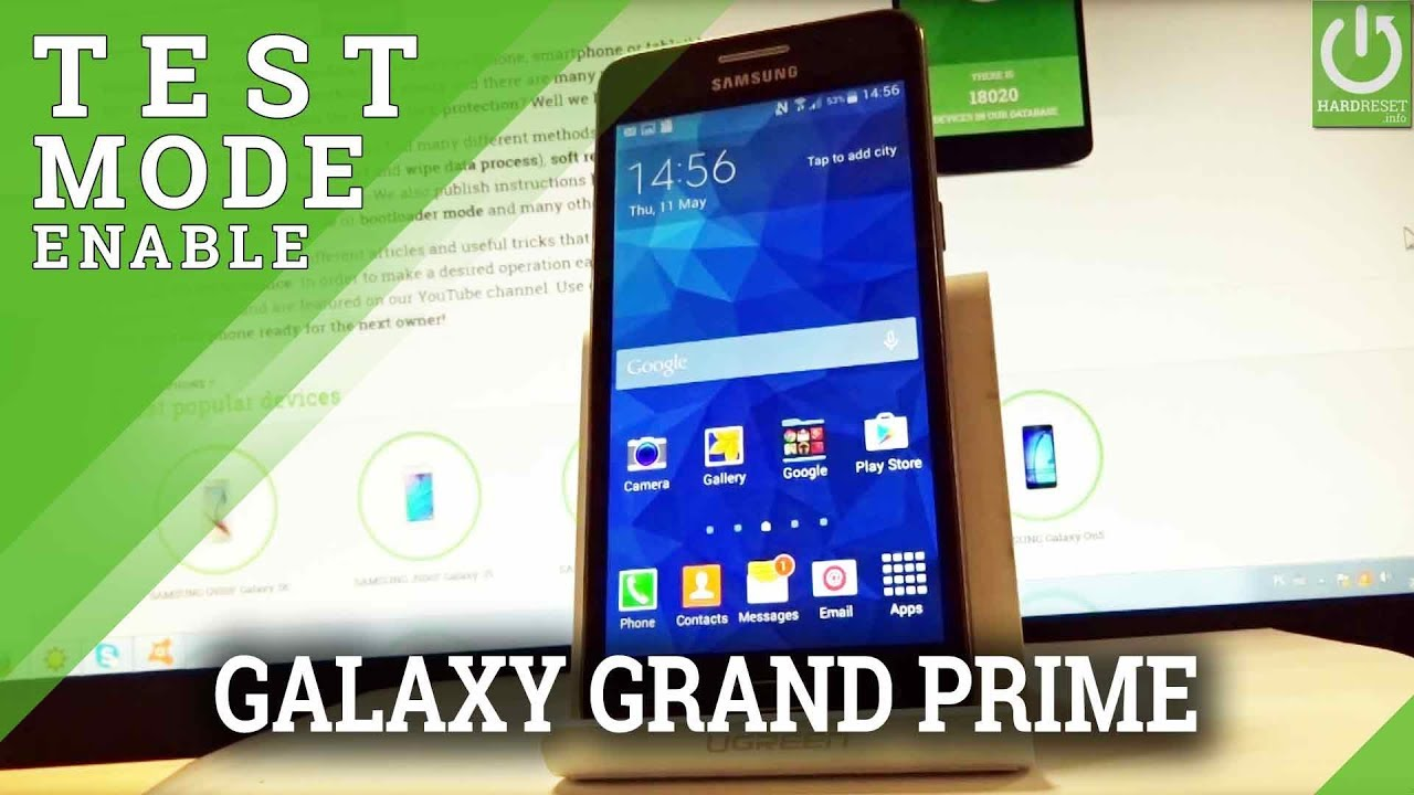 Codes SAMSUNG G531F Galaxy Grand Prime VE - HardReset info