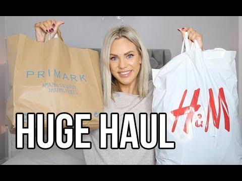 HUGE WINTER HAUL | H&M, PRIMARK, ZARA, AND MOTHERCARE