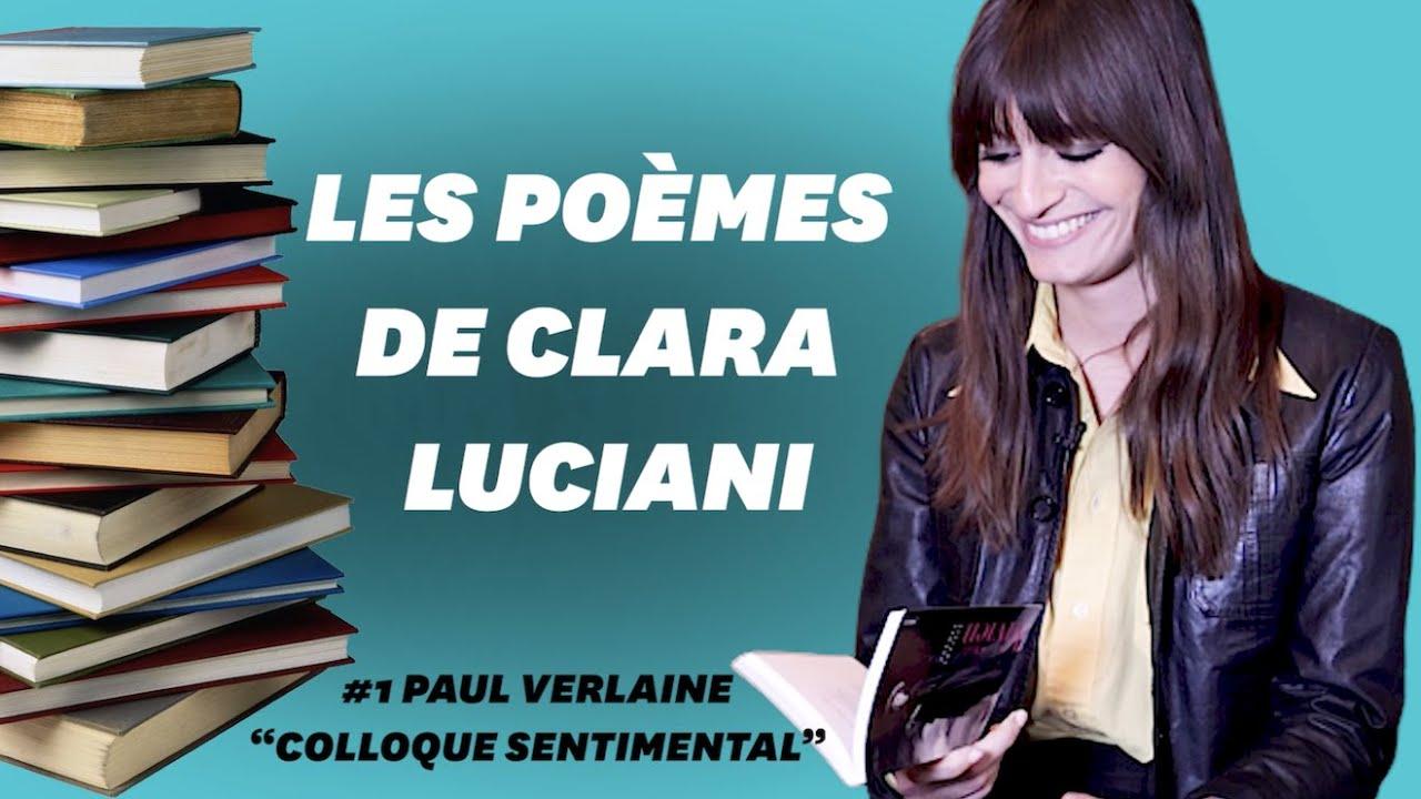 Clara Luciani Lit Verlaine Et Son Poème Colloque Sentimental