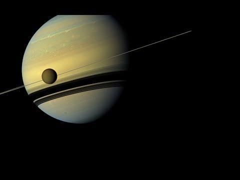 Спутник Сатурна,Титан.