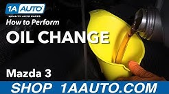 How to Perform an Oil Change 13-19 Mazda 3