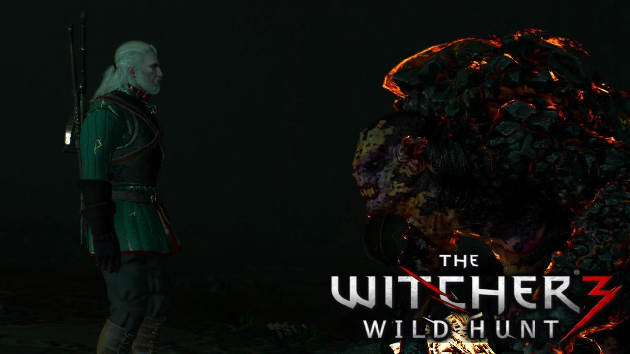 The Witcher 3 Wild Hunt *DLC Quest* Contract: Missing Miners [Peaceful  Outcome]