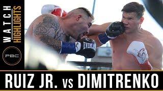Ruiz Jr. vs Dimitrenko HIGHLIGHTS: April 20, 2019 - PBC on FOX
