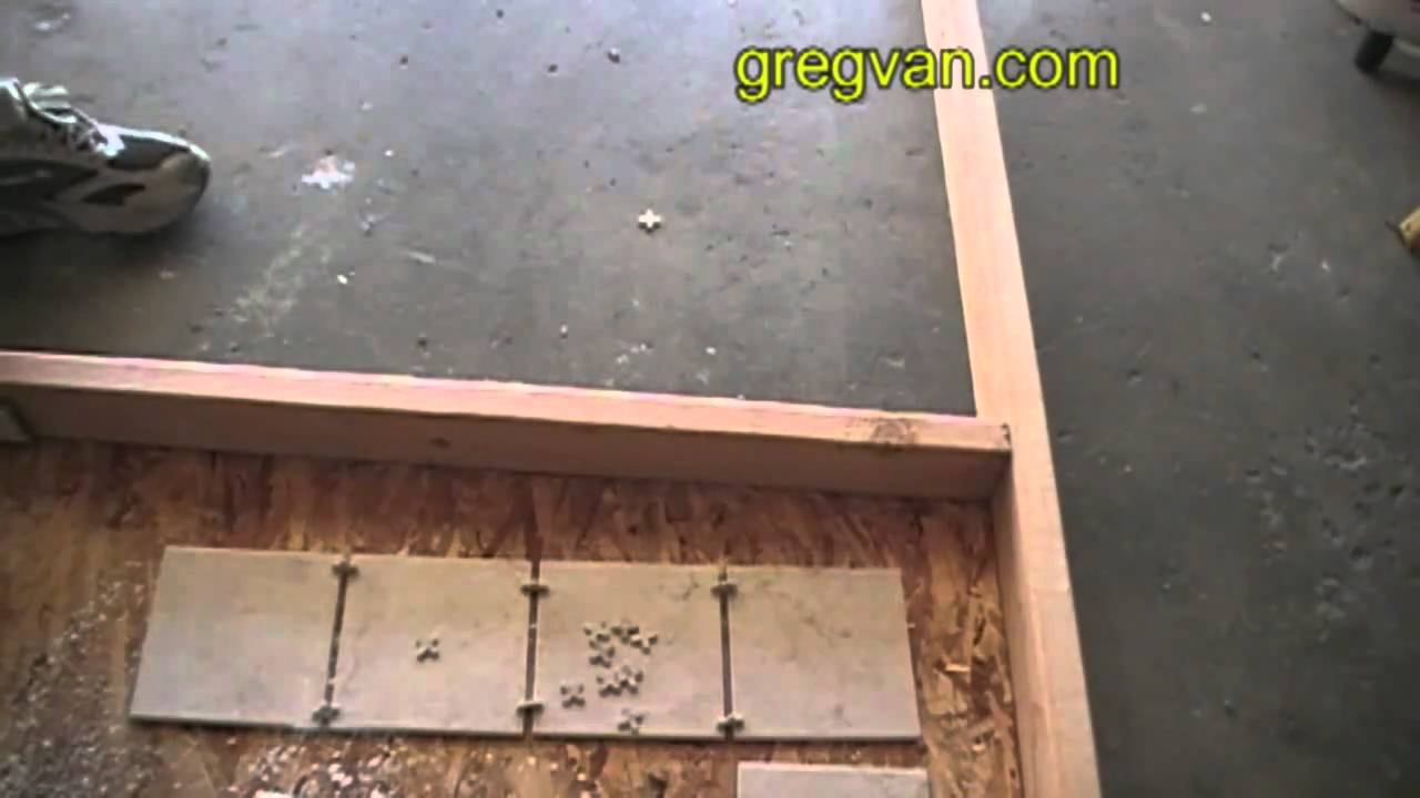 How to solve angled wall problems installing ceramic tile youtube how to solve angled wall problems installing ceramic tile dailygadgetfo Images