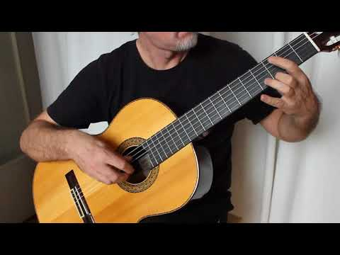 J.S. Bach - Invention No 1 - solo classical guitar