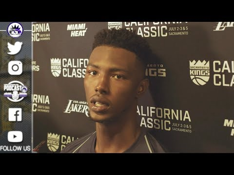 Harry Giles Summer League Interview | Kings vs Lakers 2018