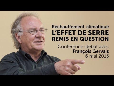François Gervais - L'effet de serre remis en question