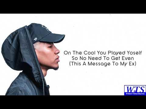 Chris Landry - Message To My Ex (Lyrics)