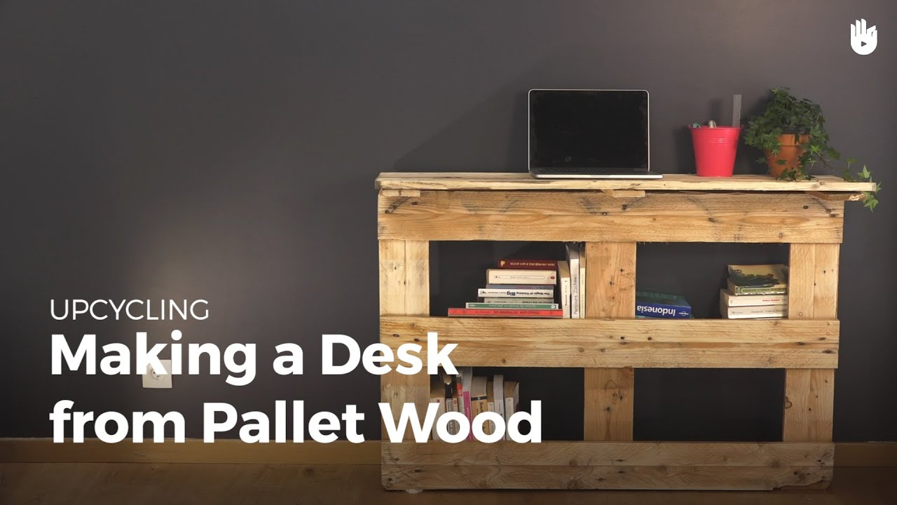 diy pallet projects table upcycling youtube. Black Bedroom Furniture Sets. Home Design Ideas