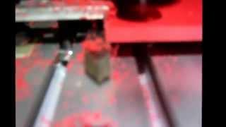 Cyrob : Premiers copeaux avec CNC 3020
