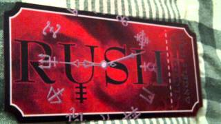 Rush Clockwork Angels Tour 2012 VIP Commemorative Concert Ticket Thumbnail