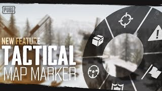 PUBG - New Feature - Tactical Map Marker thumbnail