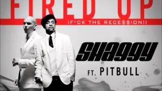 Shaggy ft Pitbull- Fired Up!! (Clean, Radio edit) Audio