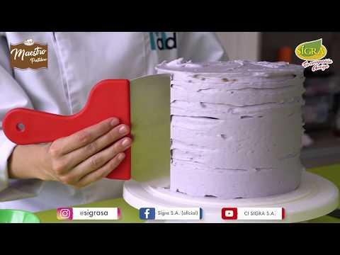 Prepara una deliciosa torta tendencia con todo el sabor Maestro Pastelero PARTE 2