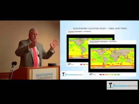 George Petrie gives an engineering overview at the Seasteading Conference 2012
