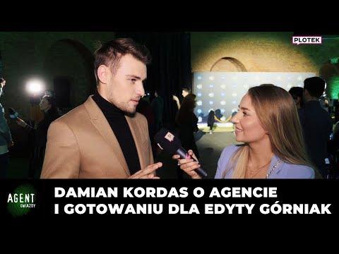 Damian Kordas o Agencie i gotowaniu dla Edyty Górniak