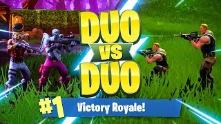 MY BEST DUO GAME EVER!!! Fortnite: Battle Royale Duo vs Duo Challenge
