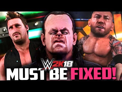 These WWE 2K18 Problems Must Be Fixed Now!
