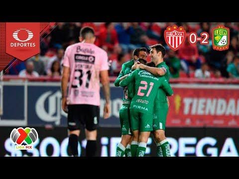 Noche fiera | Necaxa 0 - 2 León | Apertura 2018 - Jornada 13 | Televisa Deportes