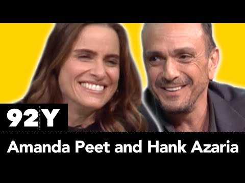 Hank Azaria and Amanda Peet talk about their roles on IFC's Brockmire