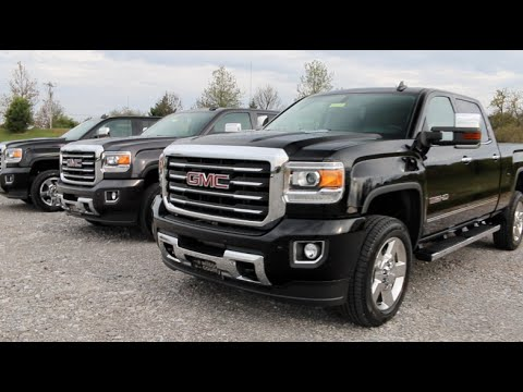 2016 Gmc Sierra 2500hd Slt All Terrain 4x4 Duramax Crew Cab For Wilson County Motors