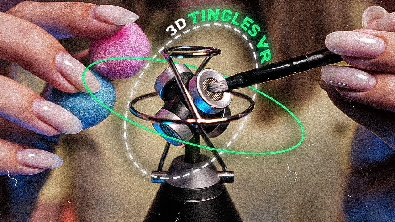 3D МУРАШКИ, Триггеры VR 360° Тест Микрофона АСМР, ASMR Tingles, Mic Test, Top Triggers, No Talking