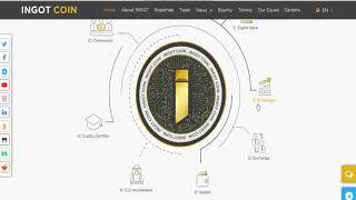 обзор проекта ico INGOT