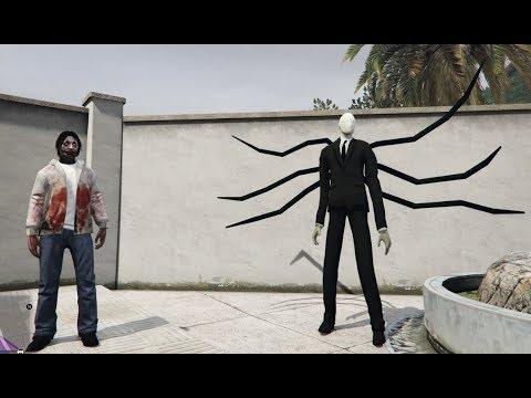GTA 5 - Slenderman và Jeff the killer Ai là kẻ chiến thắng (ý tưởng Fan) | GHTG 4K